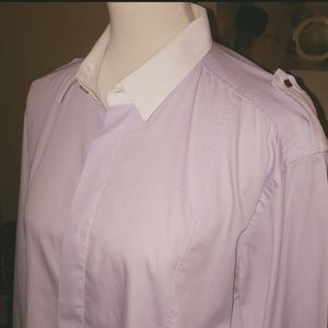 Men's Versace Lilac LS Shirt